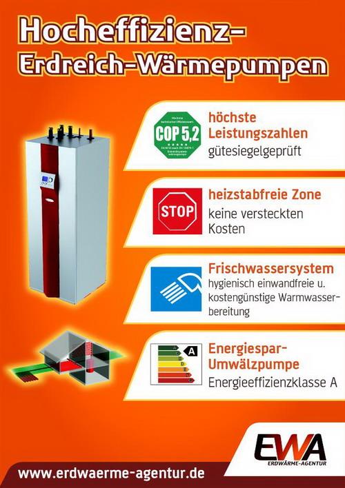 Erdreich Wärmepumpen mit Flächenkollektoren, Direktverdampfer ...